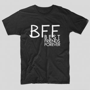 tricou-negru-bff-best-friends-forever