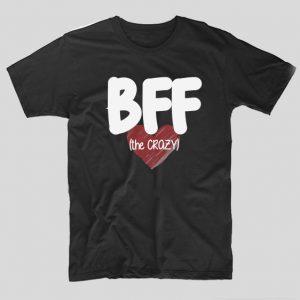 tricou-negru-bff-the-crazy