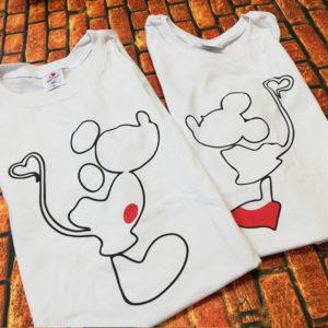 tricouri-albe-cu-mesaje-pentru-cupluri-mickey-minnie