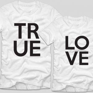 tricouri-albe-cu-mesaje-pentru-cupluri-true-love