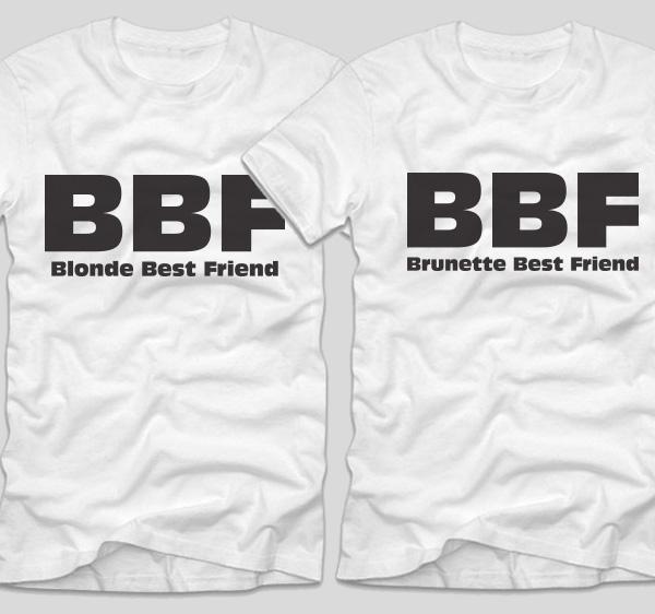 tricouri-albe-cupluri-bbf-blonde-best-friend-and-brunette-best-friend