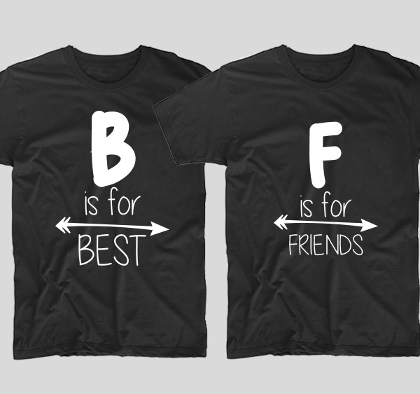tricouri-negre-bff-b-is-for-best-si-f-is-for-friendsjpg