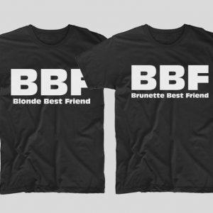 tricouri-negre-cupluri-bbf-blonde-best-friend-and-brunette-best-friend