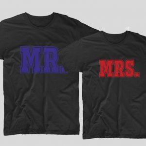 tricouri-negre-pentru-cupluri-mr-and-mrs