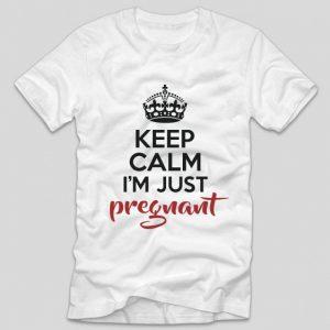 tricou-alb-cu-mesaj-pentru-gravide-si-viitoare-mamici-keep-calm-im-just-pregnant