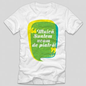 tricou-alb-cu-mesaj-pentru-olteni-muica-noi-suntem-un-neam-de-piatra-mesaj-oltenesc