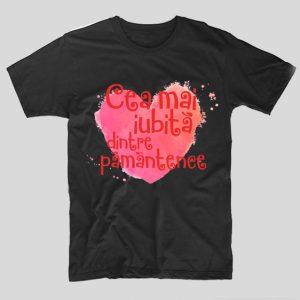 tricou-cea-mai-iubita-dintre-pamantence-negru
