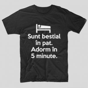 tricou-negru-din-bumbac-cu-mesaj-viral-sunt-bestial-in-pat-adorm-in-5-minute