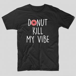 donut-vibe-negru-tricou-festival