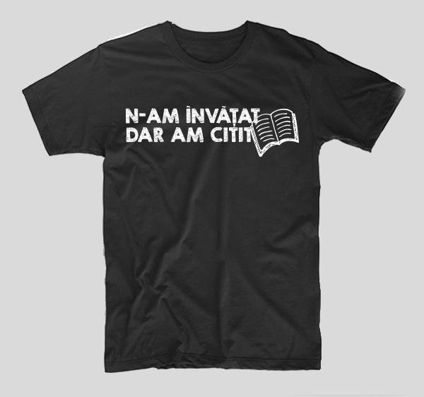 tricou-negru-cu-mesaj-haios-pentru-studenti-n-am-invatat-dar-am-citit