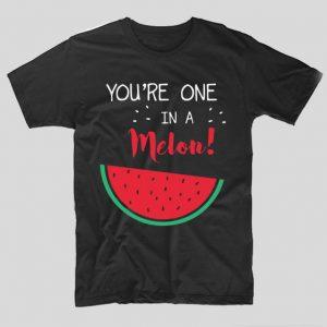 tricou-negru-haios-cu-mesaj-pentru-iubite-you-re-one-in-a-melon