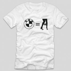 tricou-alb-cu-mesaj-haios-pentru-soferi-bmw