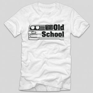 tricou-alb-cu-mesaj-haios-pentru-soferi-old-school