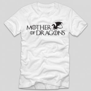 tricou-alb-cu-mesaj-game-of-thrones-mother-of-dragons