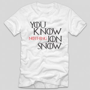 tricou-alb-game-of-thrones-you-know-nothing-jon-snow