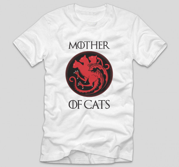 tricou-got-mother-of-cats-alb
