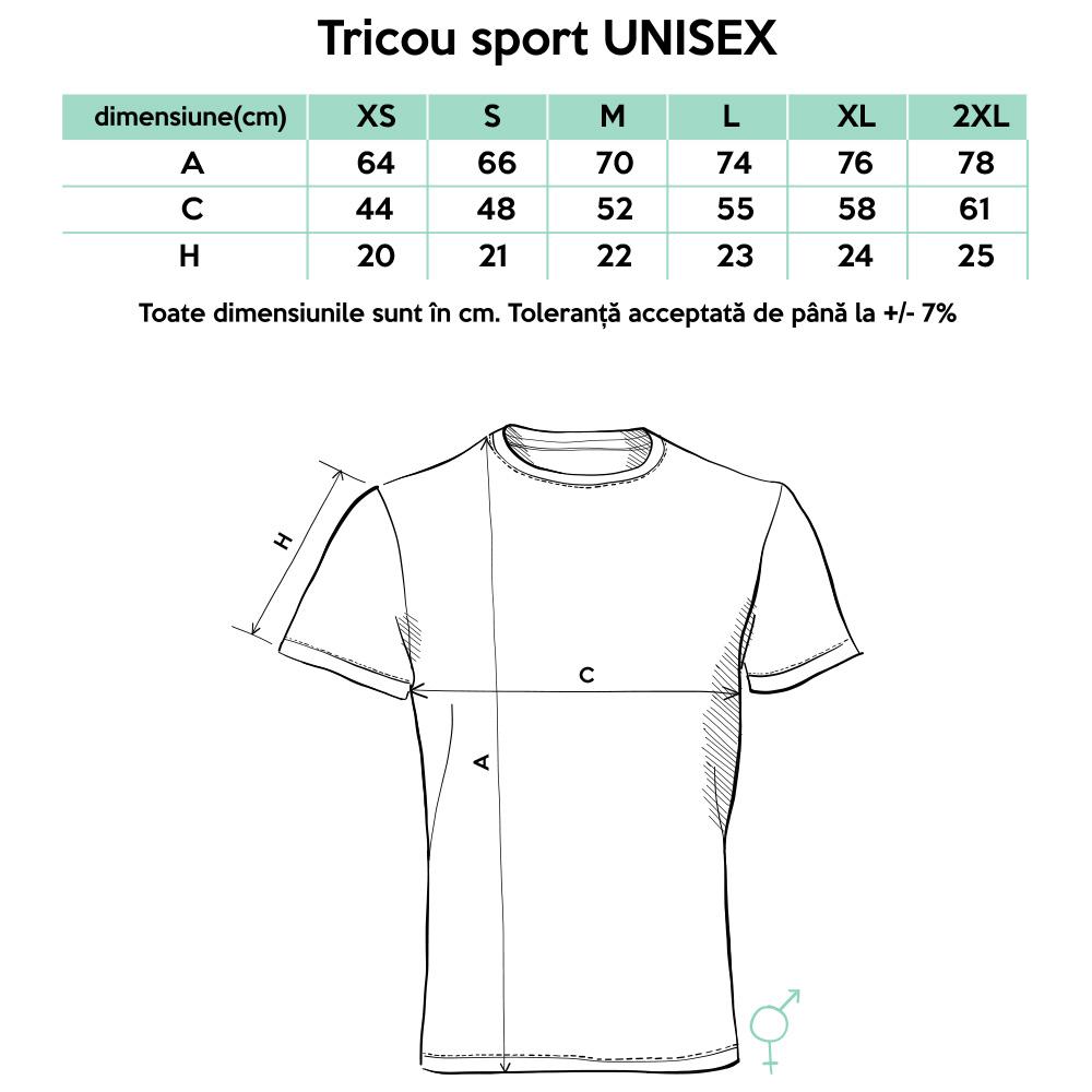vânzări cu ridicata mai bine outlet online marimi-tricouri-sport - Tricouri cu mesaje
