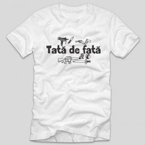 tata-de-fata-tricou-alb-cu-mesaj-haios-pentru-tatici