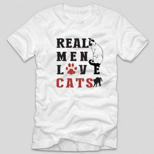 tricou-alb-cu-mesaj-haios-pentru-iubitorii-de-animale-pisici-real-men-love-cats
