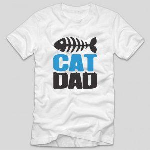 tricou-alb-cu-mesaj-pentru-iubitorii-de-pisici-cat-dad-pisica