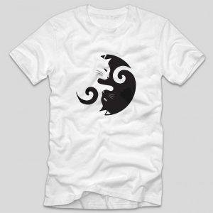 tricou-alb-cu-mesaj-pentru-pisic-yin-si-yan