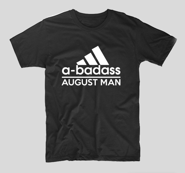 tricou-aniversare-luna-nasterii-haios-model-engleza-negru-adidas-a-badass-august-man
