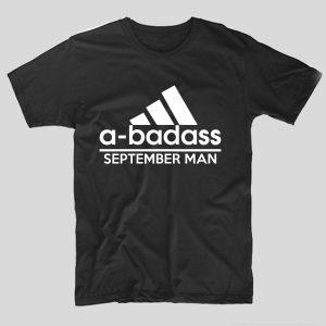tricou-aniversare-luna-nasterii-haios-model-engleza-negru-adidas-a-badass-september-man