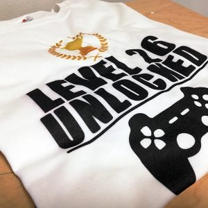 tricou-funny-personalizabil-level-gaming