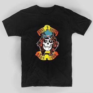 tricou-mesaj-rock-rockeri-haine-guns-n-roses-tour-988-tricou-negru