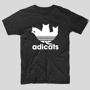 tricou-negru-cu-mesaj-haios-adicats-adidas-pisici-cats