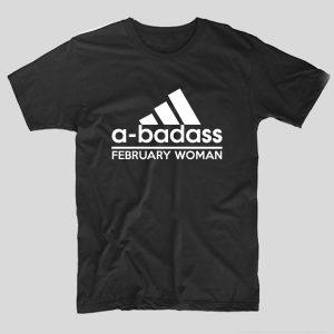 tricou-negru-cu-mesaj-haios-adidas-a-badass-february-woman