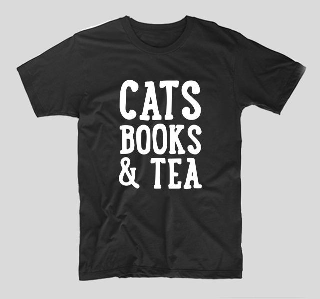 tricou-negru-cu-mesaj-haios-pentru-iubitoarele-de-pisici-cats-books-and-tea