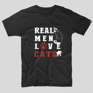 tricou-negru-cu-mesaj-haios-pentru-iubitorii-de-animale-pisici-real-men-love-cats