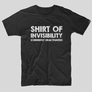 tricou-negru-haios-pentru-gameri-shirt-of-invisibility-currently-deactivated