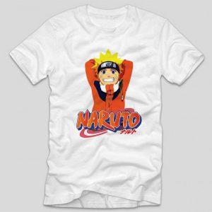 tricou-alb-cu-mesaj-anime-naruto-haios