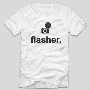 tricou-alb-cu-mesaj-haios-pentru-fotografi-fotografie-flasher