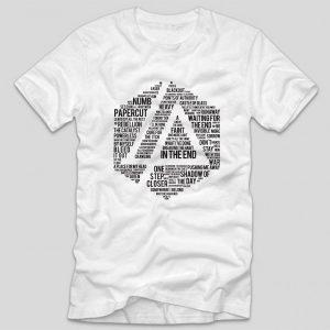 tricou-alb-cu-mesaj-linkin-park-melodii-songs-mesaj