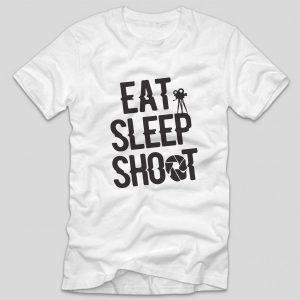tricou-alb-cu-mesaj-pentru-fotografi-eat-sleep-shot-photography