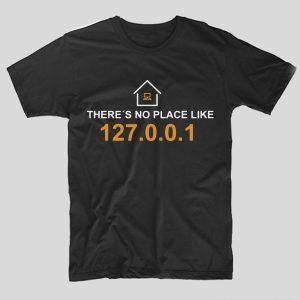 tricou-negru-cu-mesaj-haios-pentru-programatori-theres-no-place-like-home