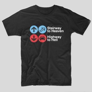 tricou-negru-cu-mesaj-pentru-rockeri-rock-led-zeppelin-stairway-to-heaven-highway-to-hell
