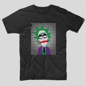 tricou-negru-cu-rick-si-morty-serial-desene-adulti-joker