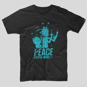 tricou-rick-si-morty-rick-and-morty-peace-among-worlds