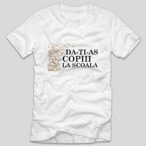 tricou-alb-cu-mesaj-haios-injuratura-pozitiva-da-ti-as-copiii-la-scoala