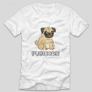 tricou-alb-cu-mesaj-haios-pentru-iobitorii-de-caini-pugicorn