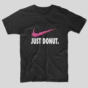tricou-negru-cu-mesaj-haios-just-donut-simpsons