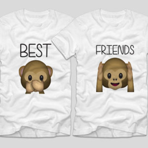 tricouri-bff-best-friends-emoji-monkeys-maimute-maimutici