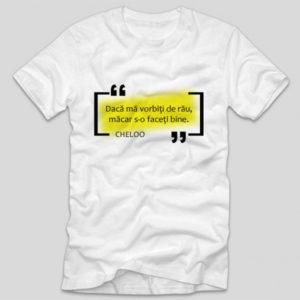 tricou-alb-cu-mesaj-haios-versuri-daca-ma-vorbiti-de-rau-macar-s-o-faceti-bine