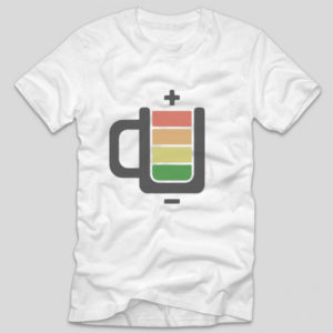 tricou-alb-cu-mesaj-haios-coffee-battery