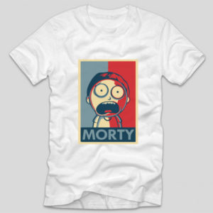 tricou-alb-cu-mesaj-haios-morty-rick-and-morty