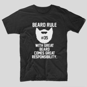 tricou-negru-cu-mesaj-haios-pentru-barbosi-beard-rule-with-great-beard-comes-great-responsibility